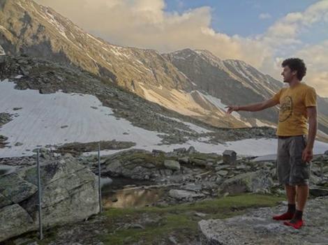 Foto Klimaatverandering Gletsjer